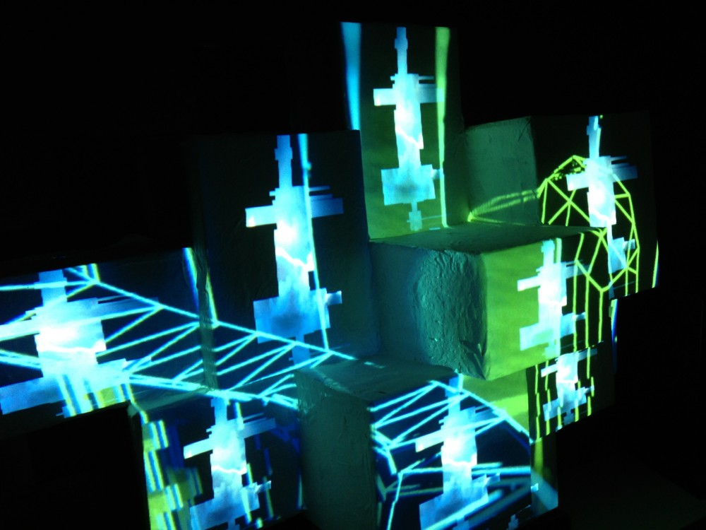 Jason Torres Projection Mapping Gravitas Recordings